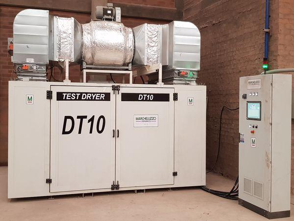 HIGH POWER TEST DRYER FOR HEAVY CLAY