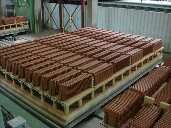 Mono-layer tunnel kiln