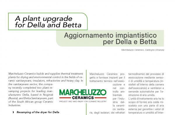 Plant upgrade for Della and Betta companies
