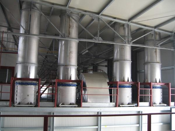 Fans for humid air extraction